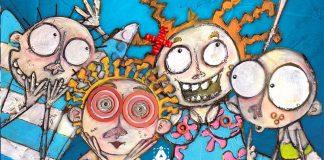 Detalle de la portada de Feelinks