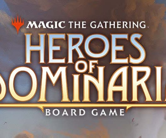 Logo de Heroes of Dominaria, el próximo juegod e mesa de Magic The Gathering