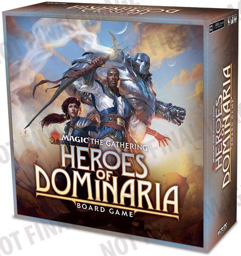 Caja provisional del juego d emesa de Magic Heroes of Dominaria