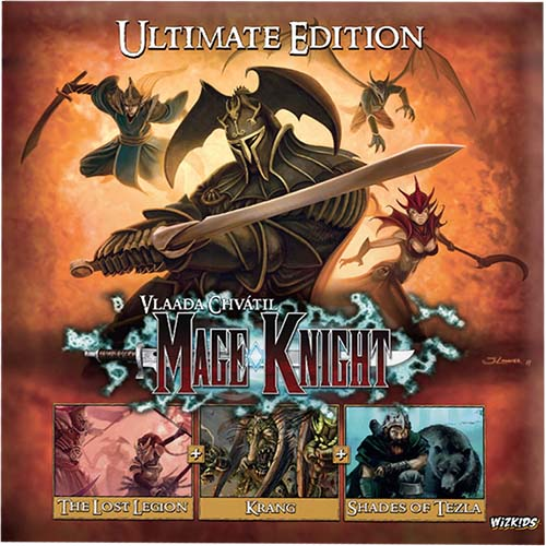 Portada de Mage Knight Ultimate edition