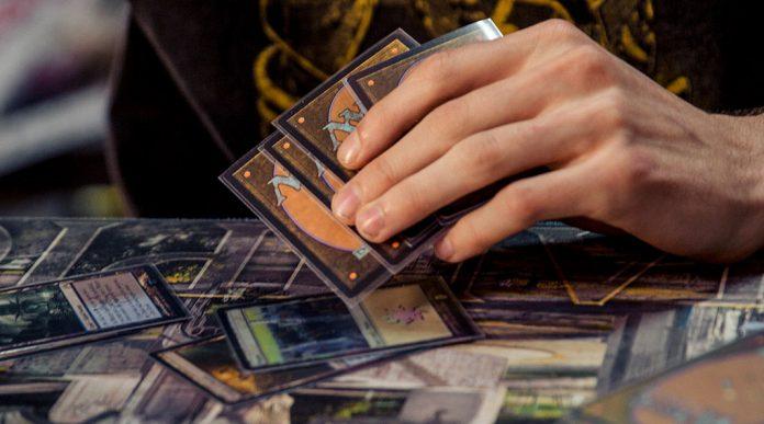 Mano de cartas de Magic the gathering