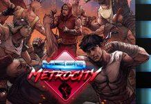 Detalle de la portada de Mega Metrocity