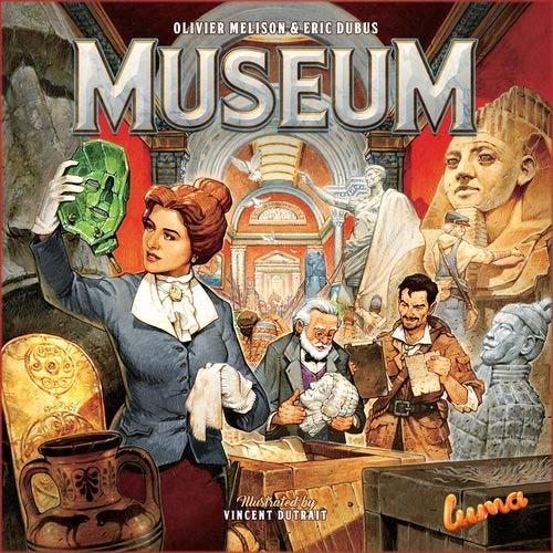 Portada del juego de mesa Museum