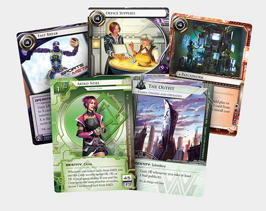 Cartas de Reign And reverie la nueva expansion de android netrunner
