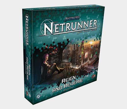 Portada de Reign And reverie la nueva expansion de android netrunner