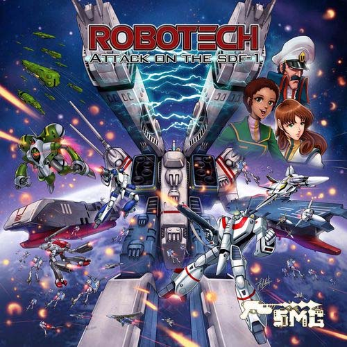 portada de Robotech: Attack on the SDF-1