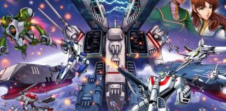 Detalle de la portada de Robotech: Attack on the SDF-1