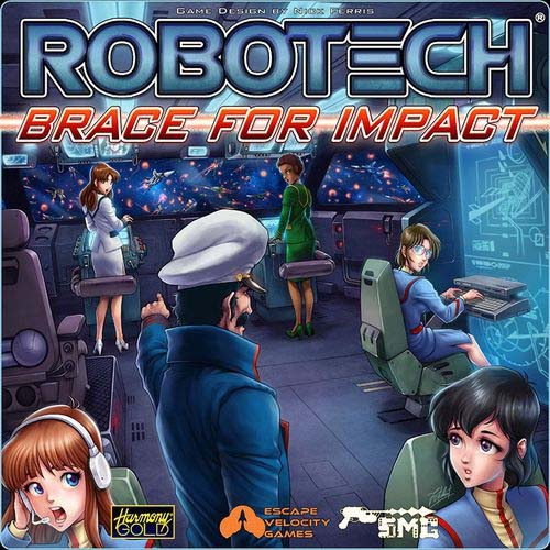Portada de Robotech: Brace for Impact