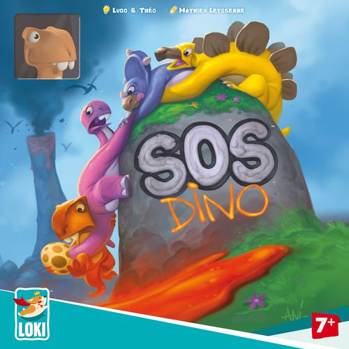 Portada de SOS Dino