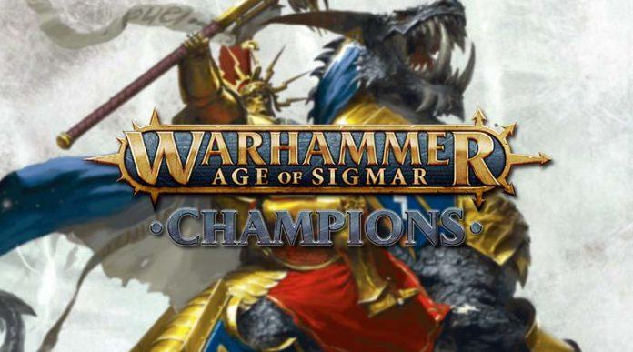 Logotipo de Warhammer Age of Sigmar: Champions