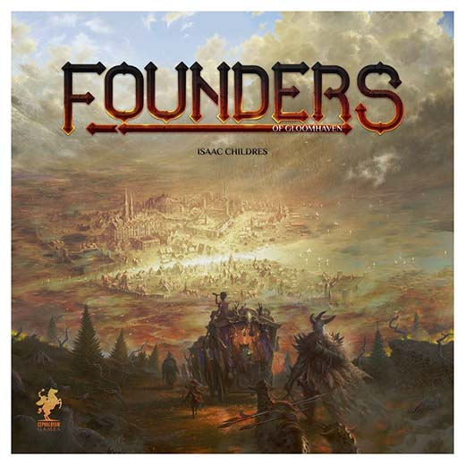 Portada de Founders of Gloomhaven