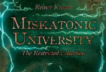 Logotipo de Miskatonic University: The Restricted Collection