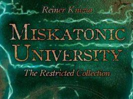 Logotipo de Miskatonic University: The Restricted Collection