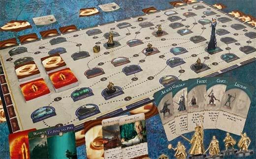 Componentes de Quest to Mount Doom