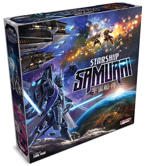 Portada de de Starship Samurais