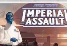 Detalle de la portada Tiranos de Lothal, Expansión para Imperial Assault