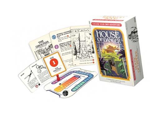 Componentes del juego de mesa elige tu propia aventura la casa del peligro