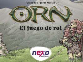 Logotipo del juego de rol Orn