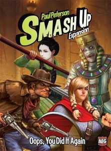 Portada de Smash Up: Oops You Did It Again