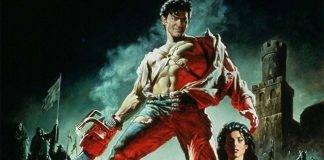 Fragmento del cartel de la película Army of Darkness