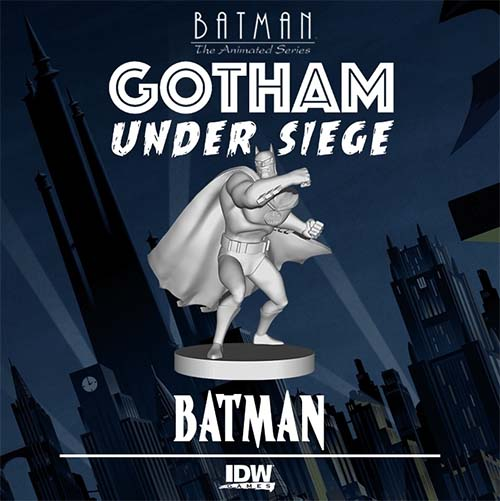 Batman: The Animated Series - Gotham Under Siege Miniatura de Batman