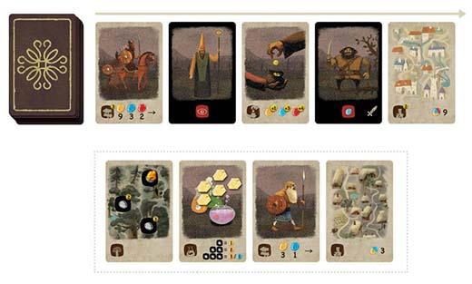 Cartas del juego Ámbar