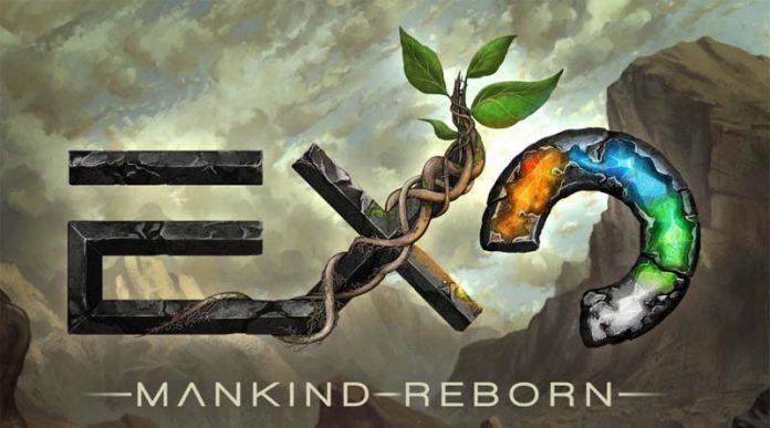Logotipo de Exo mankind reborn