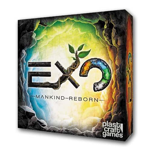 Portada de Exo mankind reborn