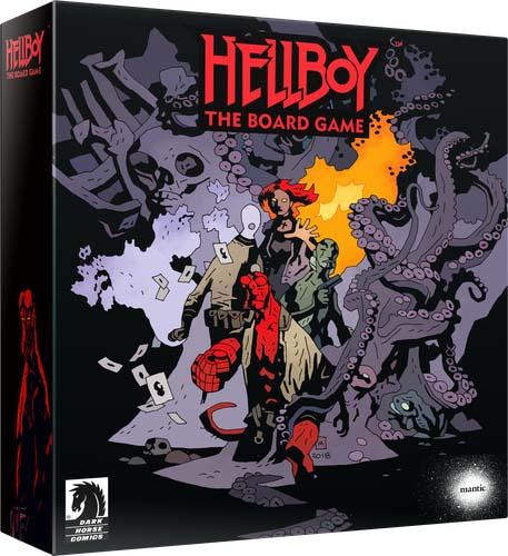 Portada de Hellboy el juego de mesa