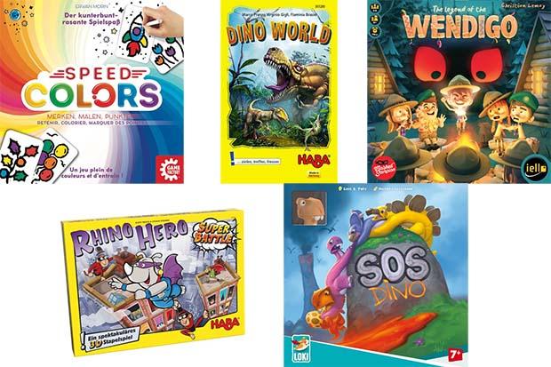 Juegos recomendados Kinderspiel des Jahres 2018