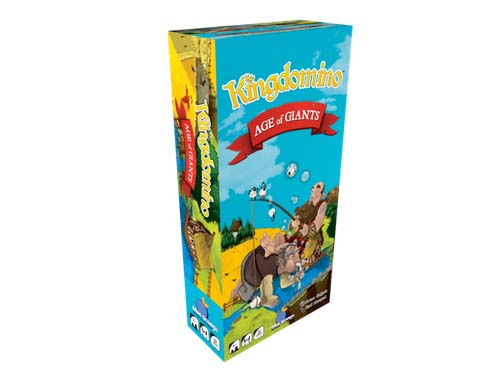 Caja de kingdomino: Age of Giants