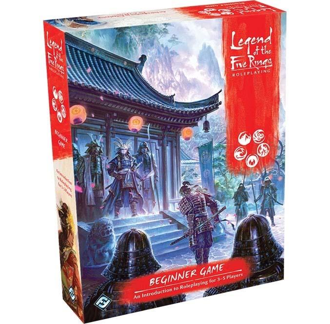Portada del Starter Set del RPG de la Leyenda de los cinco anillos