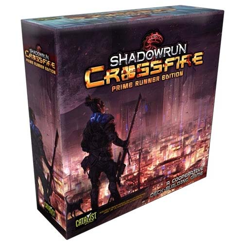 Portada de Shadowrun Crossfire: Prime Runner Edition