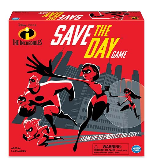 Caja de The Increibles: Save the Day