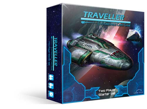 Portada de Traveller the card game