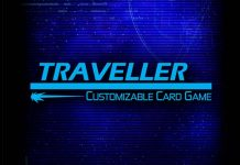 Logotipo de Traveller The Card Game