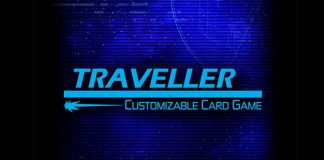 Logotipo de Traveller The Card Game
