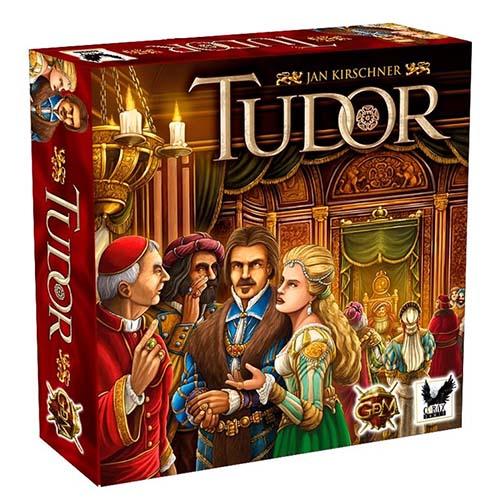 Portada del juego de mesa Tudor