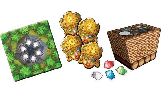 Algunos de los componentes de Cacao: Diamantes