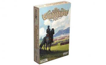 Portadade la edición de Z-Man Games de Condottiere