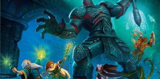Detalle de la portada de Heroes of Terrinoth
