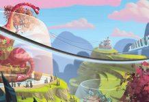 Ilustración de la portada de Mesozooic