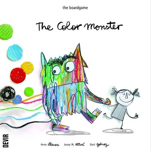 Portada del juego de mesa El Monstruod e Colores de Josep Maria Allue