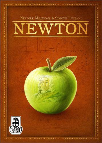 Portada del juego de mesa Newton