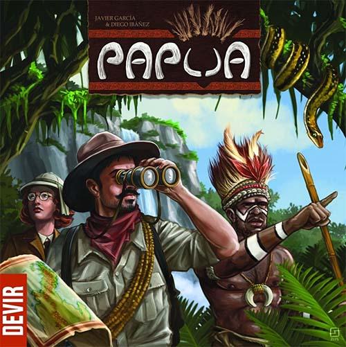 Portada del Juego de mesa Papua