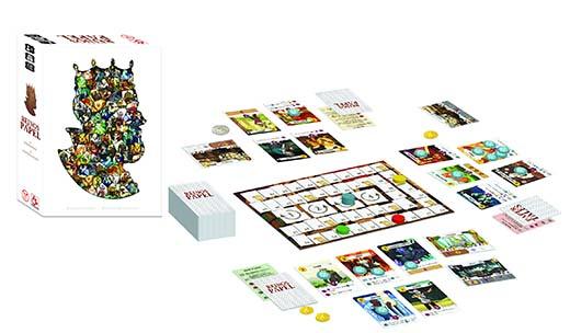 Componentes de reinos de papel