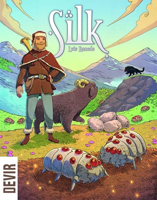 Portada del juego de mesa Silk de Luis Ranedo