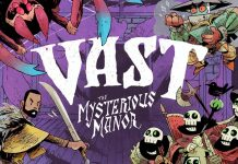 Portada de Vast: The Mysterious Manor