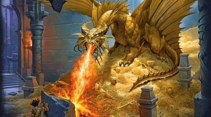 Arte de la portada de Vault of Dagons