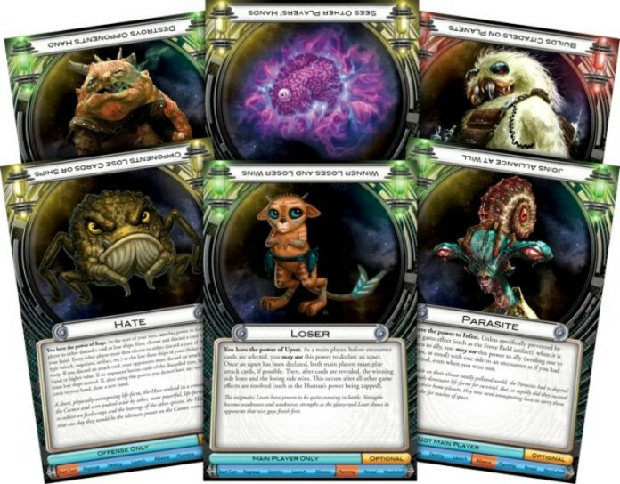 Cartas de raza de Cosmic Encounter